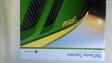 Prospekt:John Deere traktori 5M serije,20str.eng.