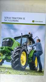 Prospekt:John Deere trktori sa 3 cilindra,16 str.