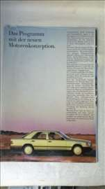 Prospekt:Mercedes program novih kocepta motora