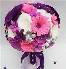 Unikatni bidermajeri Floral Lux