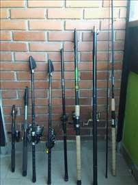 Štapovi za pecanje i pribor