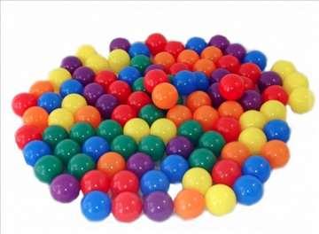 Plastične loptice 5.5 cm - 50 kom