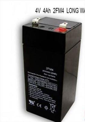 Long akumulator baterija 4V-4Ah,nova