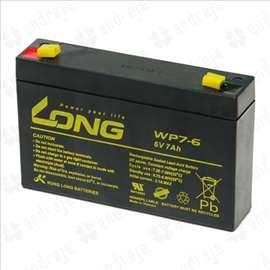 Long baterija akumulator 6V-7Ah,nova