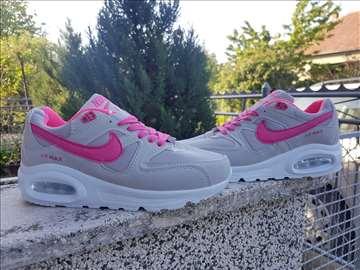 Nike Air Max Command sive, sa roze znakom, prelepe