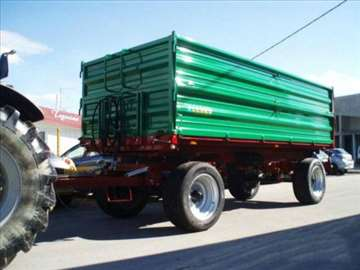 Prodajem traktorsku prikolicu 8T dvoosovinka