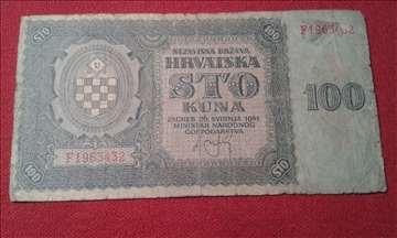 100 Kuna NDH 1941