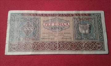 5000 Kuna NDH 1943