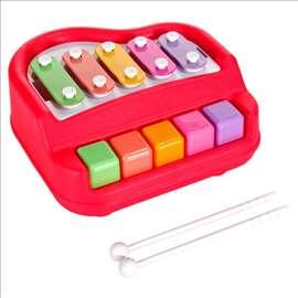 Ksilofon-klavir - igračka za bebe