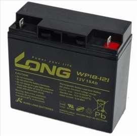 Long akumulator, baterija 12V-18Ah, nova