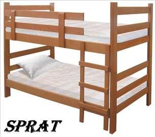 Krevet na sprat sa dušecima