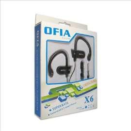 Ofia X6 slušalice za mobilni telefon