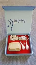 Slušni aparat za oba uha sa slušalicama