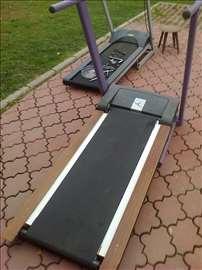Traka za trčanje, nova staza, guma-platno