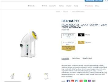 Bioptron 2   lampa plaćena