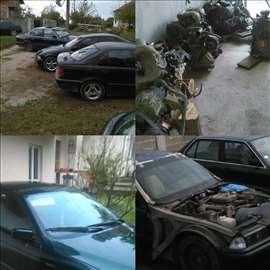 BMW 320 Delovi e30/e34/e36/e39
