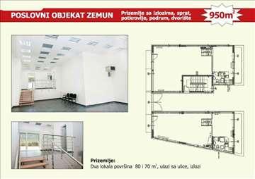 Poslovna zgrada,950 m2