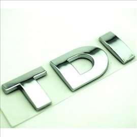 Auto znak TDI