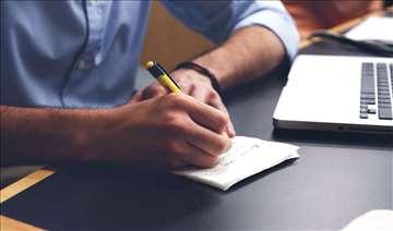 Pisanje svih vrsta tekstova