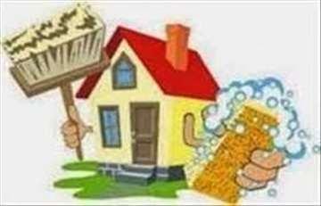 Usluga čišćenja stanova sa našim radnicima