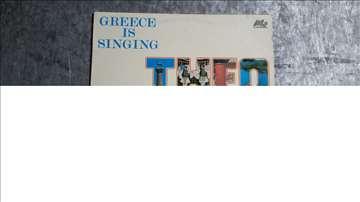 Grece is singing