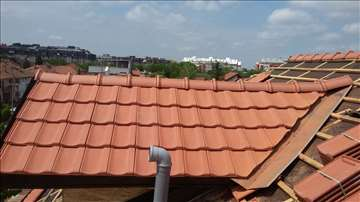 Renoviranje, izgradnja krova