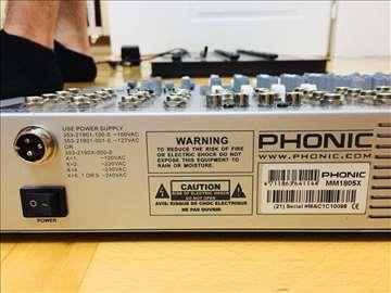 Mixer mixeta Phonic MM1805x