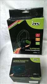 Bežične slušalice  MS Supreme,ispravne