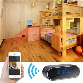 Špijunski budilnik, direktni Wi-Fi video nadzor