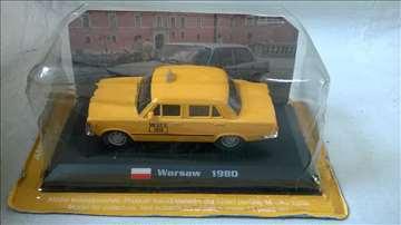 De Agostini Fiat 125 p Warsaw taxi.1:43,Kina,nov
