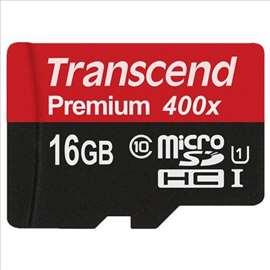 Memorijska kartica Transcend MicroSD 16GB Class 10