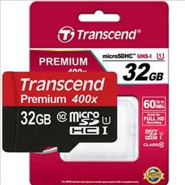 Memorijska kartica Transcend MicroSD 32GB Class 10