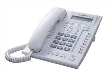 Digitalni telefon kx-t7665 Panasonic,beli, novo!