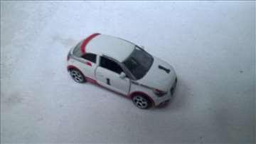Majorette Audi A!  1:58, malo izgreban