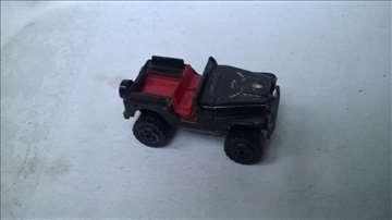 Majorette Jeep 4x4 oko 1:54,fali pr.staklo
