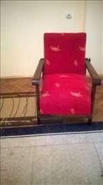 Unikatne starinske fotelje