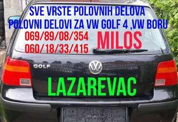 Polovni delovi za VW Golf 4, VW Boru