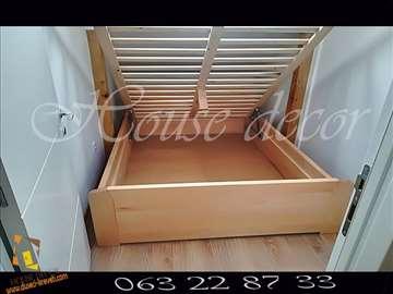 Bracni kreveti K A N sa kutijom i mehanizmom za po