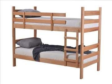 Krevet na sprat sa 2 dušeka