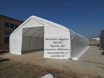 Montažna hala - Industrijski šator 110m2 i 180m2