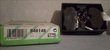 Prednje pločice Peugeot 306, 405. Valeo
