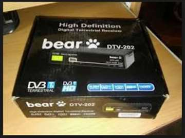 BEAR DVB T2 Set top Box Risiver  na 12V