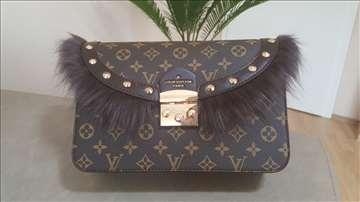 Louis Vuitton torba sa krznom, novo!