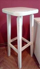 Barska stolica - reparirani namestaj (shabbi shik)