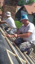 Majstori za vaš krov. Sanacije. Izgradnja krovova