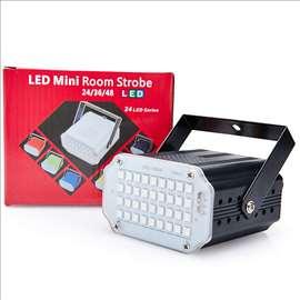 Mini LED Room Strob 36 dioda za zurke, igraonice
