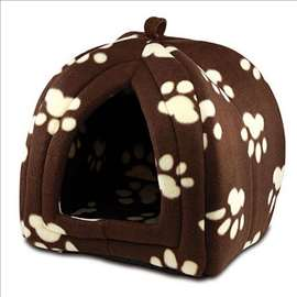 PET HUT Kućica za male pse ili mačke - Braon
