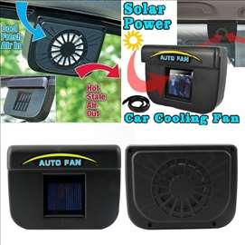 Solarni ventilator za auto - NOVO