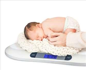 Digitalna vaga za bebe - novo