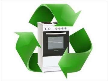 Otkup el. šporeta za reciklažu